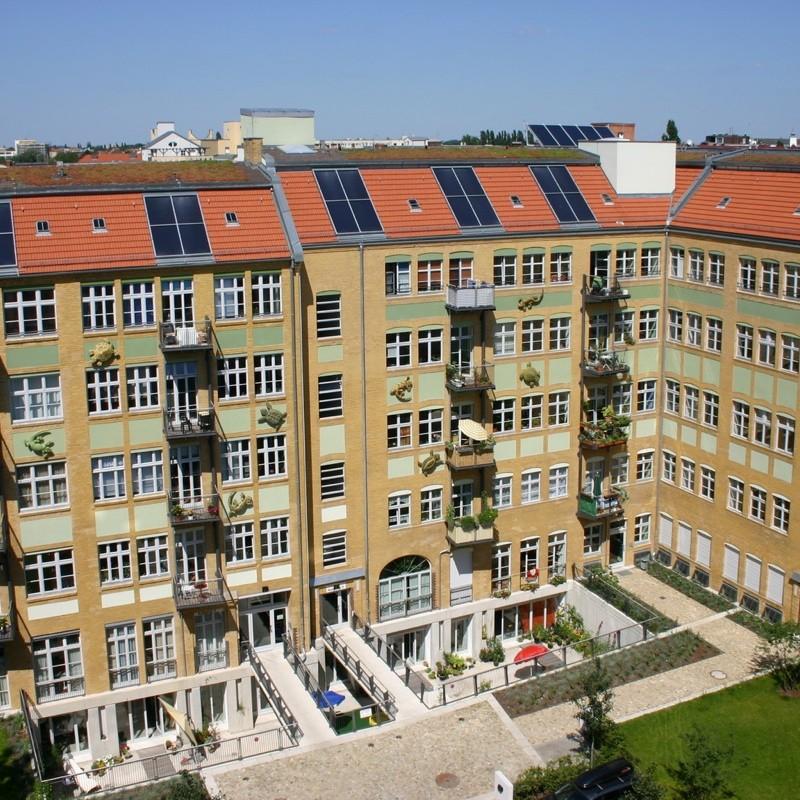 Sanierung und Umnutzung einer Fabrik (Liebenwalder Straße, Berlin-Wedding)