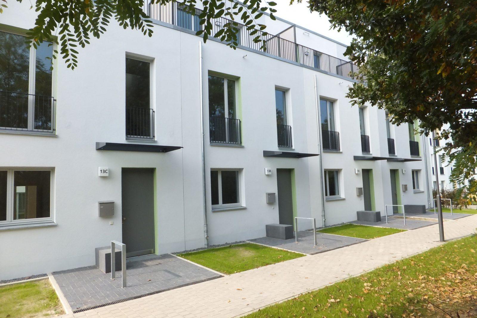 Zweiter Bauabschnitt: Neubau Gartenstadt Falkenberg II