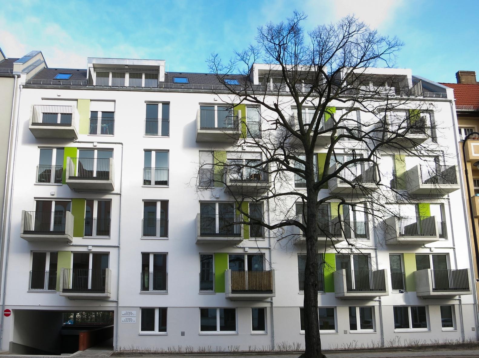 Neubau der Wohnsiedlung Pankower Gärten in Berlin-Pankow