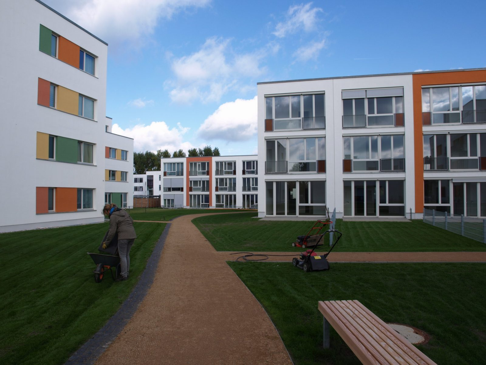 Entrée – Neubau Gartenstadt Falkenberg I