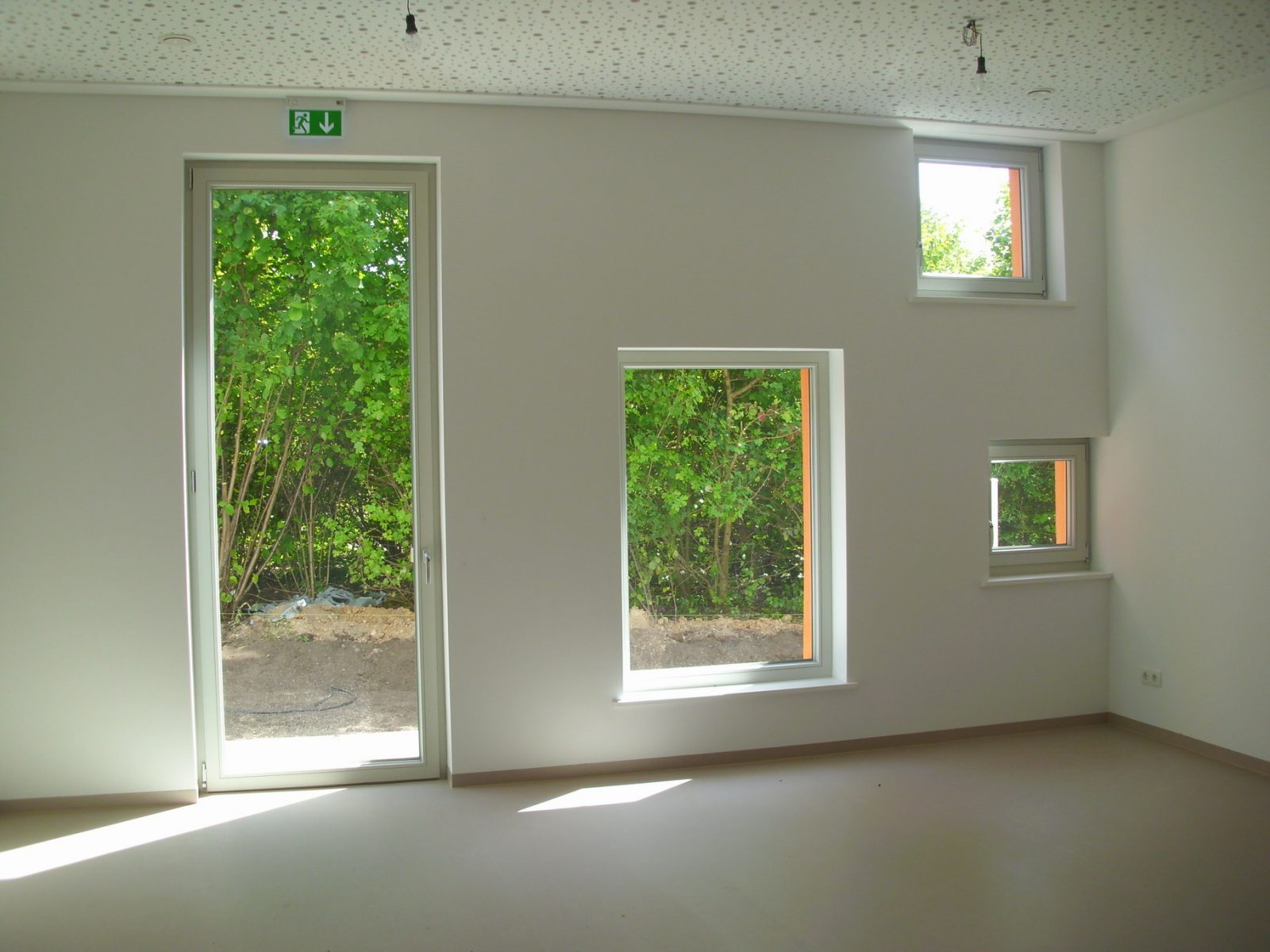 Fensterwand Kindertagesstätte – Neubau Gartenstadt Falkenberg I