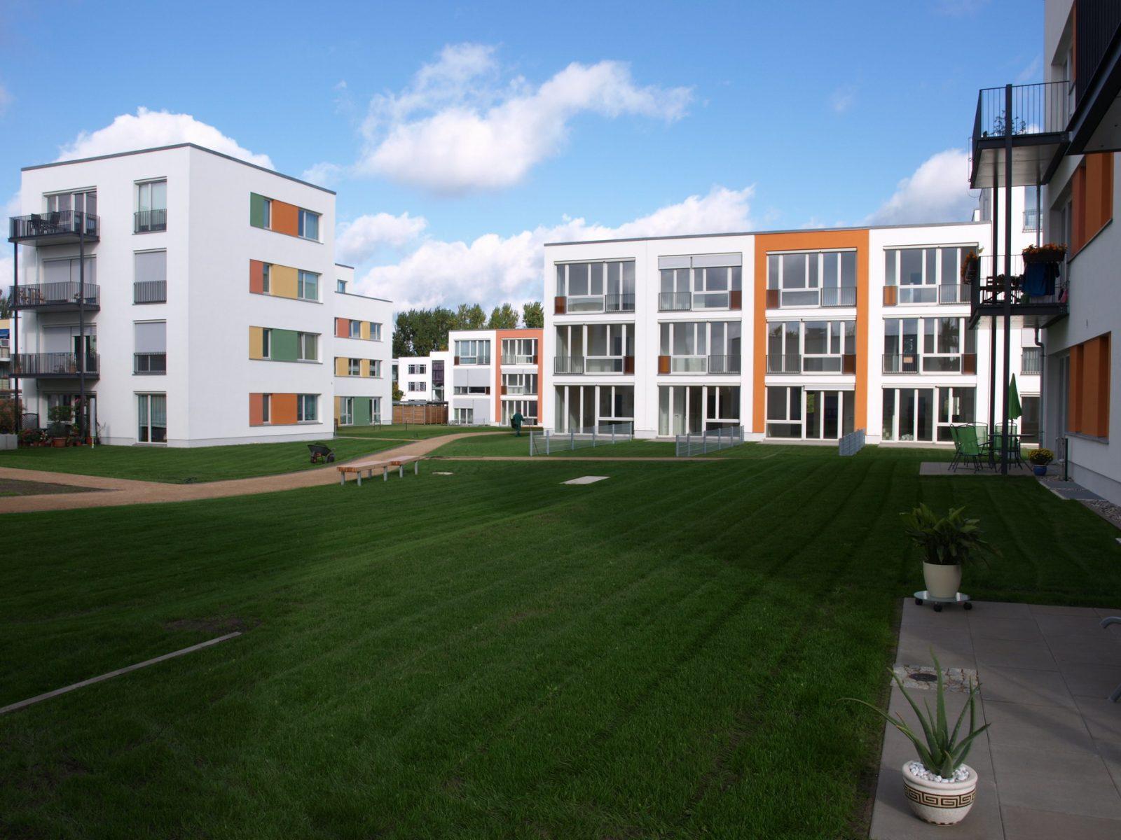 Grünanlagen / Innenhofbereiche – Neubau Gartenstadt Falkenberg I