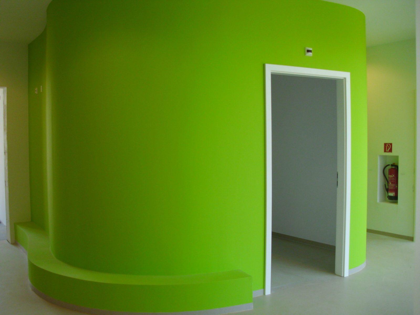 Innenraum Kindertagesstätte – Neubau Gartenstadt Falkenberg I