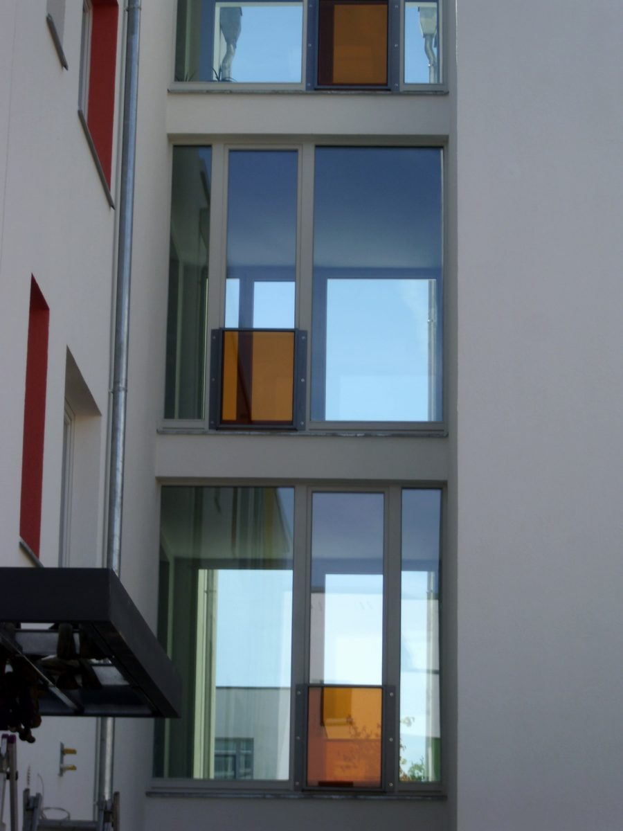 Fassadendetail – Neubau Gartenstadt Falkenberg I