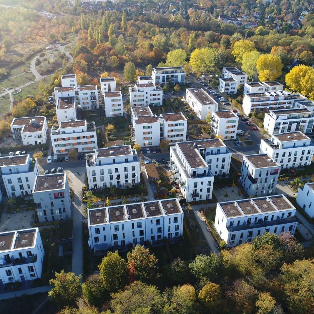 Luftbild – Neubau Gartenstadt Falkenberg I