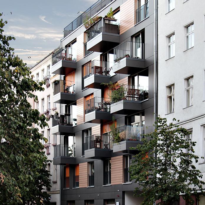 Neubau Adolfstraße 21 in Berlin Mitte – Wedding