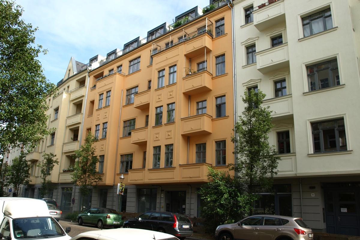 Niedrigenergiehäuser: Sanierung Schererstraße, Berlin-Wedding