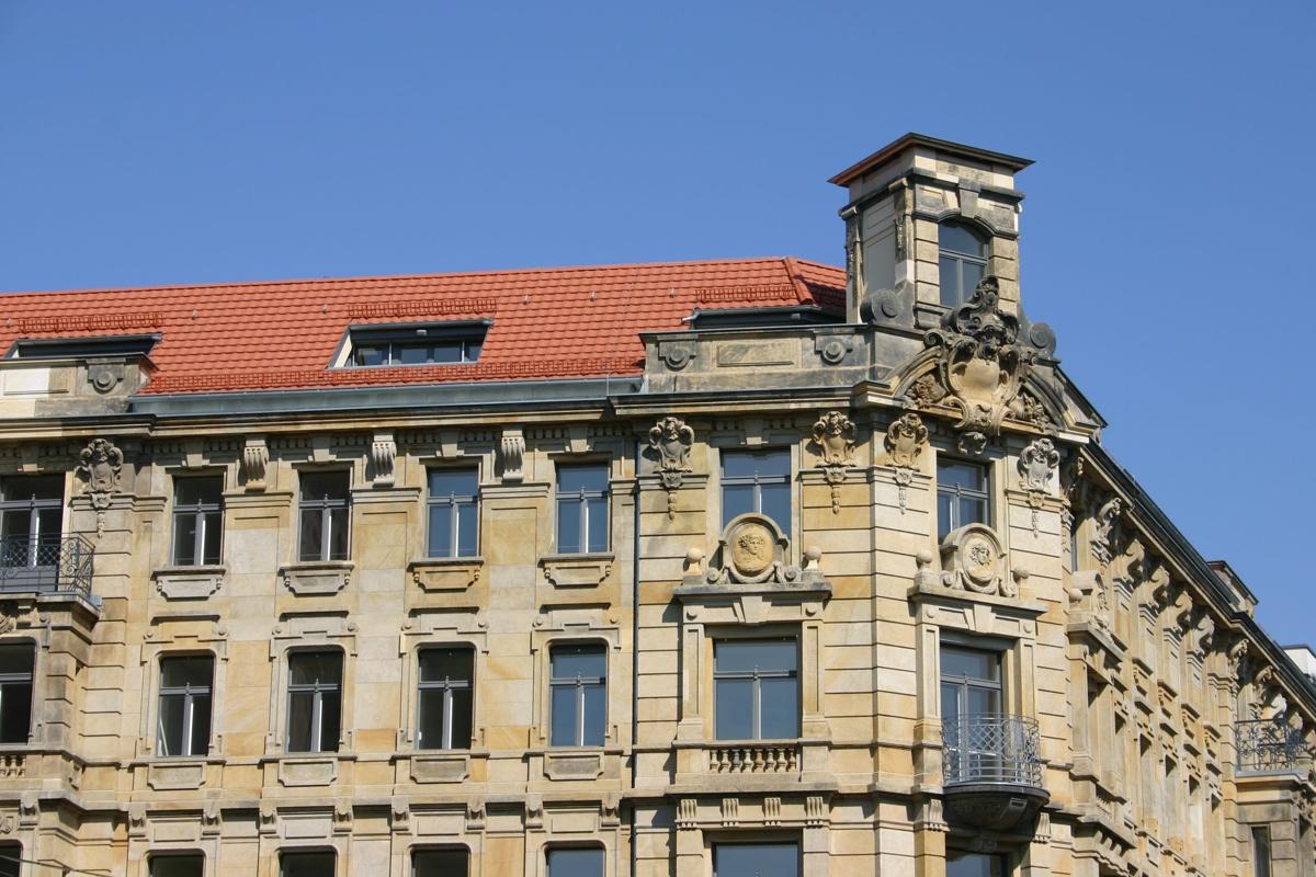 Instandsetzung Geschäftshaus Chausseestraße 22 / Invalidenstraße 35, Berlin-Mitte