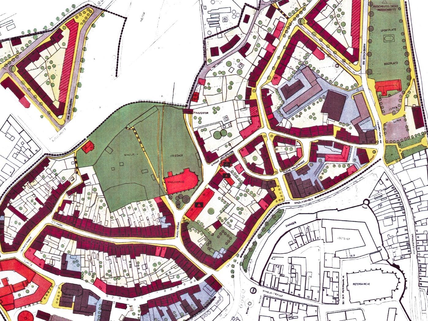 Rahmenplan für die Nikolaivorstadt in Görlitz